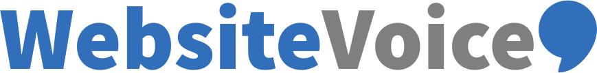 WebsiteVoice Logo